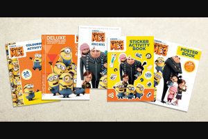 Kids in The City – Kids on the Coast – a Minions Mayhem Prize Pack to The Value of $133.00