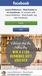 Laura Robinson real estate – Win a $100 Bunnings Gift Voucher