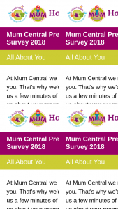 Mum Central Pregnancy & Baby Survey 2018 – Win One of Our $50 Kmart Gift Cards Up for Grabs to Lucky Readers Who Complete The Survey In Full (prize valued at $150)