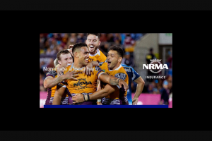NOVA 106.9 – Win The Opportunity to Toss The Coin to Determine Which Nrl (prize valued at $10,000)