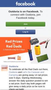 Outdoria – Win a Rad Prize