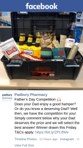 Padbury Pharmacy – Win a Hamper (prize valued at $250)