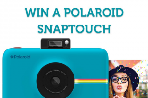 Polaroid Australia – Win a Polaroid Snap Touch Instant Digital Camera and 1 Pack of Film