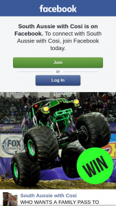 South Aussie With Cosi – Win Family Pass to Monster Jam