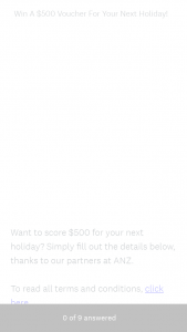 The Urban List – Win a $500 Voucher for Your Next Holiday (prize valued at $500)