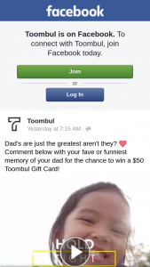 Toombul shopping centre – Win a $50 Toombul Gift Card (prize valued at $50)