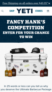 Yeti – Win The Ultimate Bbq Prize Pack Worth Over $1000.