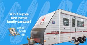 Camplify – Win 7 nights hire in a family caravan
