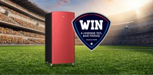 Hisense Australia – Win a Hisense 157L Bar Fridge with the choice of colour: Red or Black valued at $499