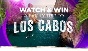 Network Ten – Pointless Watch and Win – Win a family trip for 4 to Los Cabos, Mexico plus 7-night accommodation valued at $25,604