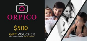 Orpico – Win 1 of 2 vouchers valued at $500 each