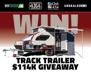 Pat Callinan Publishing – Win a major prize of a Track Trailer – Topaz Eyre valued at $88,300 OR 1 of 5 Runners-up prizes valued at $1,277 each