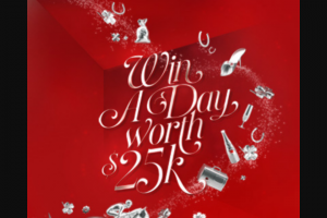 AAMI – Win a Day Worth $25k (prize valued at $25,000)