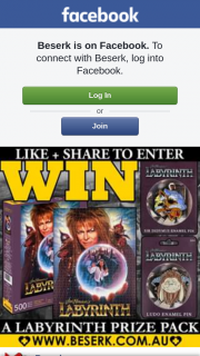 Beserk – Win &#9733 a Labyrinth Prize Pack From Wwwbeserk&#9733 Just Like & Share The Pic to Enter