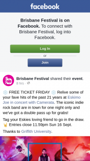 Brisbane Festival – Win a Double Pass to See Eskimo Joe In Concert With Camerata
