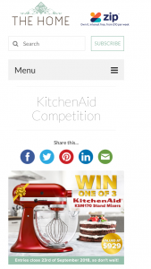 Catch – Win One of 3 X Ksm170 Stand Mixers Valued at $929 (prize valued at $2,787)