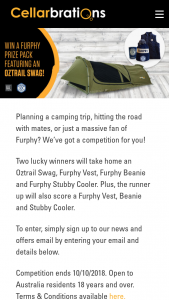 Cellarbrations – Win a Furphy