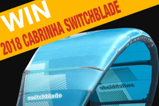 Cody Kiteboarding – Win 2018 Cabrinha Switchblade (prize valued at $1,399)