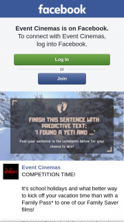 Event Cinemas Chermside – Win a Family Pass to Use at Cherms