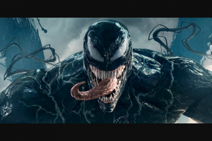 Flicks – 50 Double Passes to See Venom (in Cinemas October 4) Plus 10 Merch Packs Containing a Phone Lens