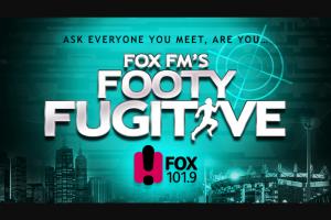 FOX FM – Win a Major Prize (prize valued at $1,600)