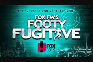 FOX FM – Win a Major Prize (prize valued at $1,600)