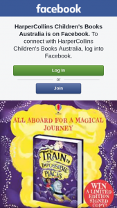 HarperCollins Children's Books – Win a Signed Copy of The Train to Impossible Places By Pg Bell