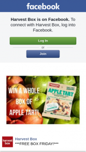 Harvest box – Win a Whole Box of Apple Tart Snack Packs