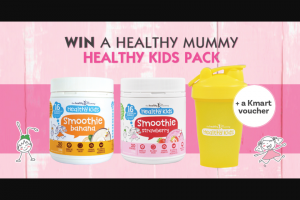 Healthy Mummy – Win a Healthy Mummy Healthy Kids Pack (prize valued at $344.85)