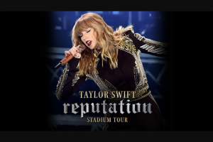 HIT105 – Taylor Swift's Reputation Stadium Tour Will Land In Australia In Late 2018 Kicking Off In Perth on Friday