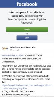 Interhampers Australia – Win a Special Occasion Gift Hamper