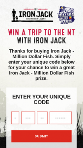 Iron Jack – Win The Same Major Prizes (prize valued at $1,743,424)