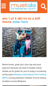 Must Do Brisbane – Win 1 of 5 Family Passes to Aussie World Valued at $175
