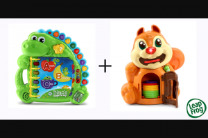 Parenthub – 3 X Christmas Toys Prize Packs From Leapfrog (prize valued at $59.9)