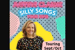 Play and Go – Win Tickets to Justine Clarke Silly Songs Tour & Cd/DVD Prize Pack (prize valued at $244)