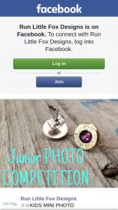 Run Little Fox Designs – Win a Set of Mini Studs Upload Photo
