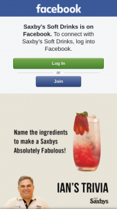 Saxbys Soft Drinks – Win a 15 Pack of Saxbys Lemonade So You Can Make Your Own Saxbys Absolutely Fabulous Drink