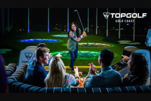Southern Cross Austereo Hit105 – Win $200 of Topgolf Cash (prize valued at $200)