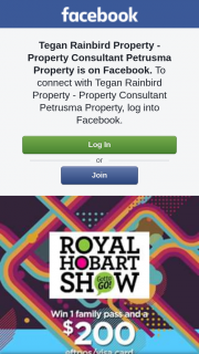 Tegan Rainbird Property – Win a Family Pass to The Royal Hobart Show & a $200 Visa Gift Card to Spoil The Kids