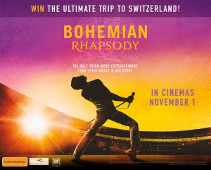 Channel Ten – The Project – Win the ultimate Bohemian Rhapsody Experience for 2 in Switzerland