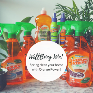 EatWell Magazine – Win 1 of 4 eco-friendly spring cleaning packs