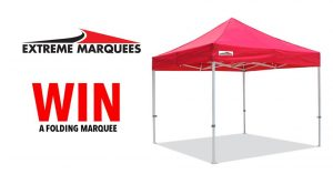 Extreme Marquees – Win a 3×3 Folding Marquee