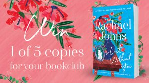 Harlequin Enterprises – Win 1 of 5 Lost Without You bookpacks for your book club valued $150 each