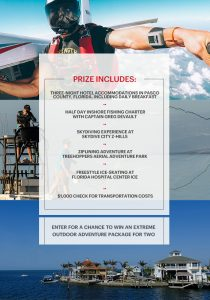 Hearst Magazines – Men's Health Extreme Outdoor Adventure – Win an extreme outdoor adventure package for 2 valued at $2,600