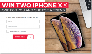 Kogan Australia – Win an Apple iPhone XS (64GB) for you and one for your friend valued at $1,629