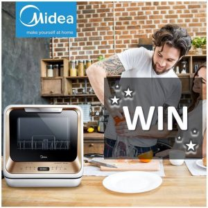 Midea Home Appliances Australia – Win a Midea Mini Dishwasher valued at $649 OR a Versa Microwave valued at $349