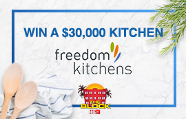 Nine Network – 9Now – The Block Freedom Kitchens – Win a Freedom Kitchen up to the value of $30,000 including delivery