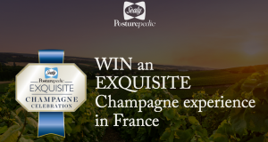 Posturepedic – Win a major prize of a trip for 2 to Champagne, France valued at up to AU$11,465 OR 1 of 100 minor prizes of a bottle of Moet & Chandon Champagne