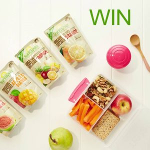 The Sunraysia Natural Beverage – Lunch Box Legend – Win 2 Sunraysia Juice Pouch 10 pack carton