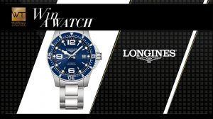 WorldTempus – Win a Longines HydroConquest watch valued at CHF 1,150
